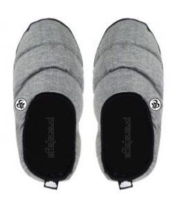 Unisex Hausschuh grau oben